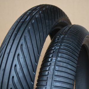 Dunlop moto3 rain wet tyres new (Front and Rear PAIR)