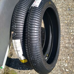 """Dunlop moto3 rain wet tyres new pair of 90 fronts x2 """"B"""" compound (collection at Circuit)"""